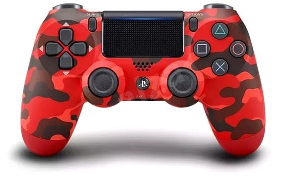 Sony PS4 Dualshock 4 V2 - Red Camouflage - Gamepad