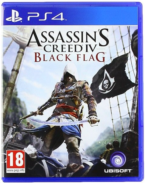Assassins Creed Iv Black Flag Ps4 Console Game Alzashop Com