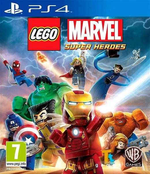 LEGO Marvel Super Heroes - PS4 - Console Game