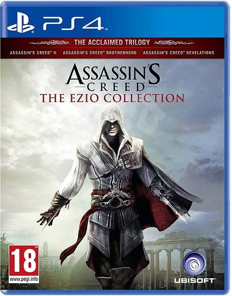 Assassin S Creed The Ezio Collection Ps4 Console Game