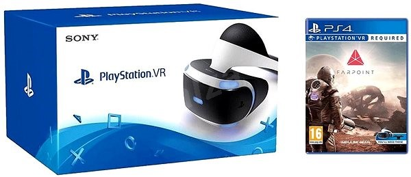 PlayStation VR for PS4 + Farpoint + Aim Controller - VR Headset