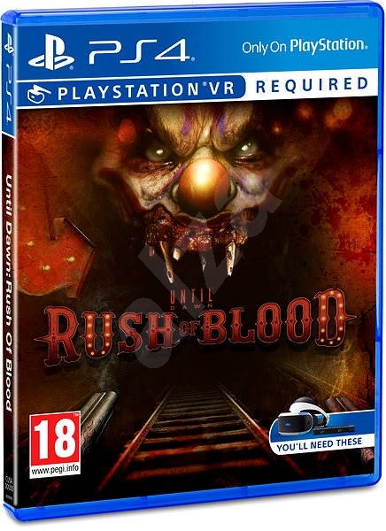 Until Dawn: Rush of Blood - PS4 VR - Console Game