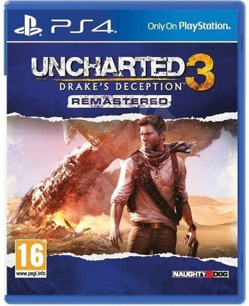 Uncharted 3 Drake S Deception Remastered Ps4 Console Game