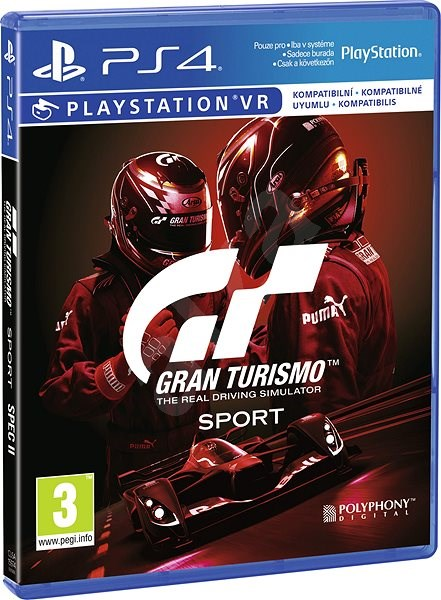 Gran Turismo Sport – Spec II - PS4 - Console Game