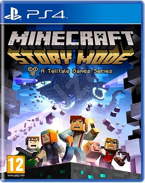 Minecraft: Story Mode - PS4 - Console Game | Alzashop com