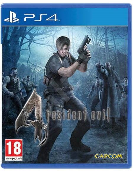 Resident Evil 4 Ps4 Console Game Alzashop Com