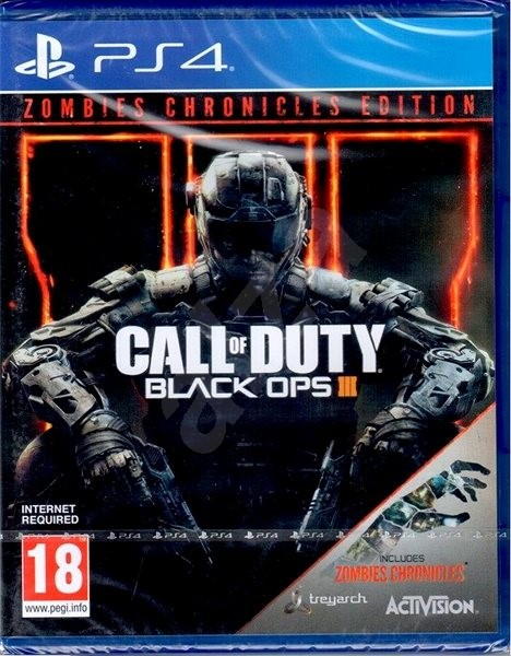 Call Of Duty Black Ops Iii Zombies Chronicles Ps4 Console