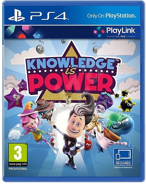 Knowledge is Power - PS4 - Console Game