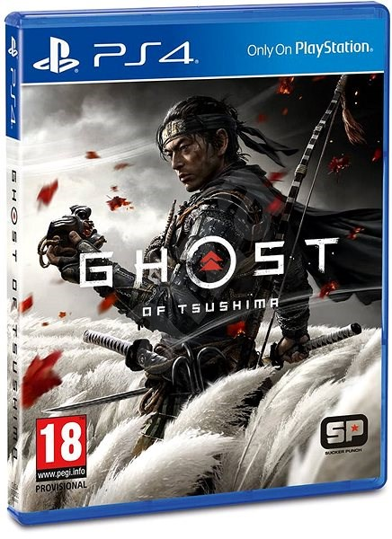 Ghost Of Tsushima Ps4 Console Game Alzashop Com
