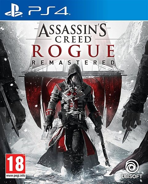 Assassins Creed Rogue Remastered Ps4 Console Game Alzashop Com