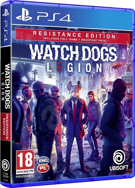 Watch Dogs Legion Resistance Edition Ps4 Console Game Alzashop Com