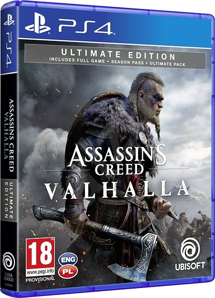 Assassin S Creed Valhalla Ultimate Edition Ps4 Console Game Alzashop Com