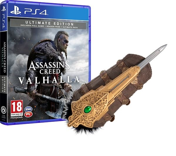 Assassin S Creed Valhalla Ultimate Edition Ps4 Eivors Hidden Blade Console Game Alzashop Com