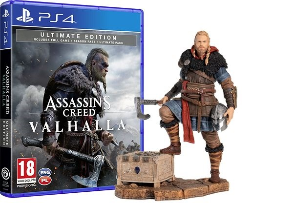 Assassins Creed Valhalla Ultimate Edition Ps4 Eivor Figurine