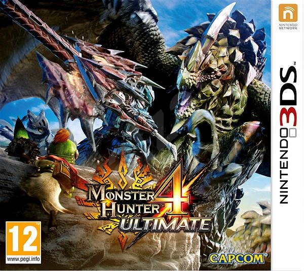 Monster Hunter 4 Ultimate - Nintendo 3DS - Console Game