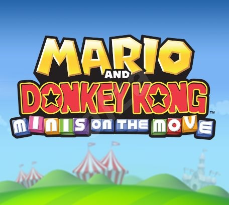 Mario and Donkey Kong: Minis on the Move - Nintendo 2DS/3DS Digital - Console Game