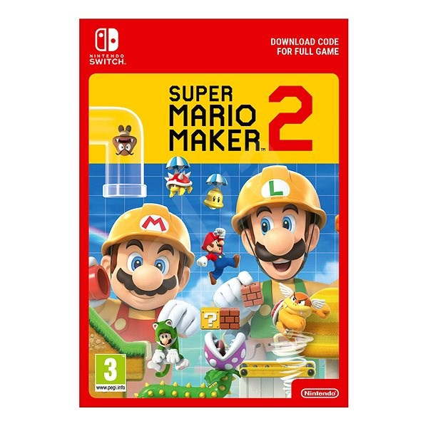 Super Mario Maker 2 - Nintendo Switch Digital - Console Game