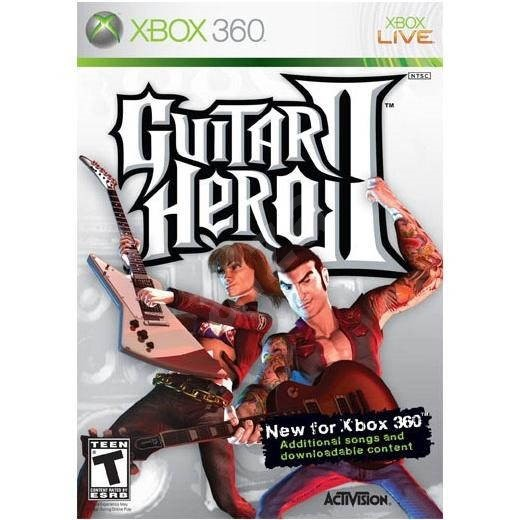 Xbox 360 - Guitar Hero II - Console Game