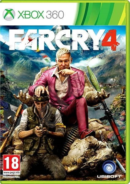 Xbox 360 Far Cry 4 Console Game Alzashop Com