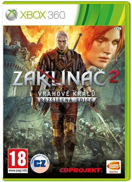 The Witcher 2 Assassins Of Kings Xbox 360 Console Game Alzashop Com