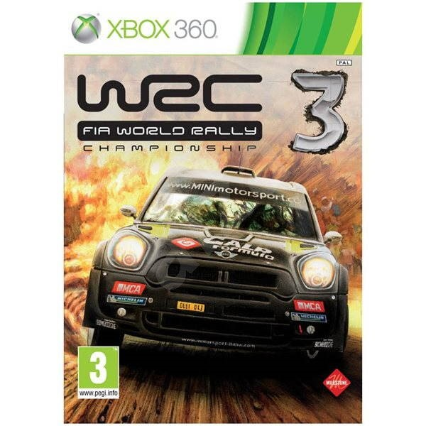 Xbox 360 - WRC 3: World Rally Championship - Console Game
