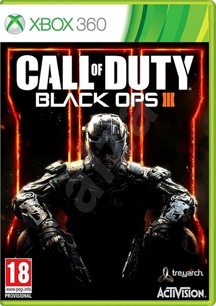 Xbox 360 - Call of Duty: Black Ops 3 - Console Game