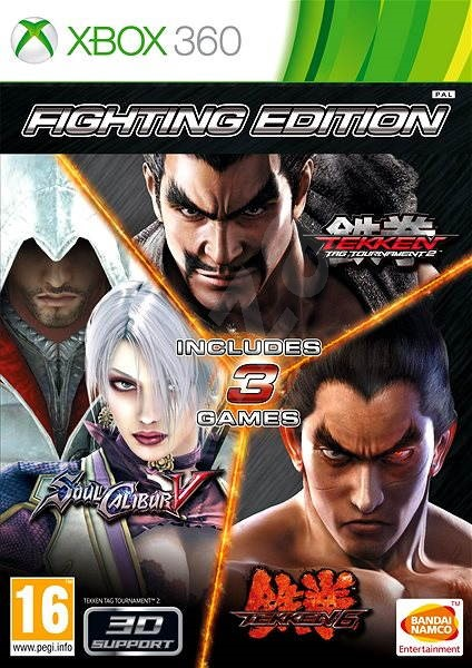 Fighting Edition Tekken 6 Tekken Tag Tournament 2 Soul Calibur V Xbox 360 Console Game Alzashop Com