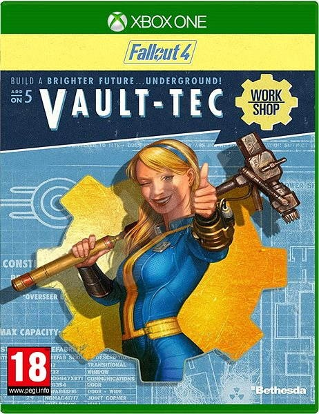 Fallout 4: Vault-Tec Workshop - Xbox One DIGITAL - Gaming Accessory