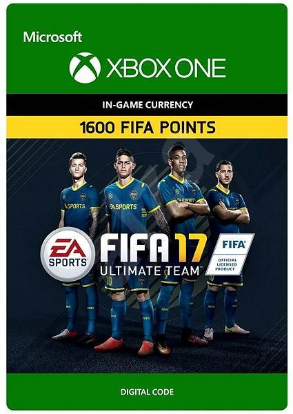 FIFA 17 Ultimate Team, FIFA Points, 1600 DIGITAL - Console Game