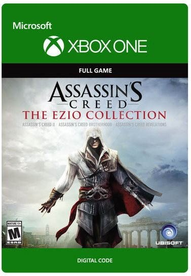 Console Game Assassin S Creed The Ezio Collection Xbox One Digital Console Game On Alzashop Com