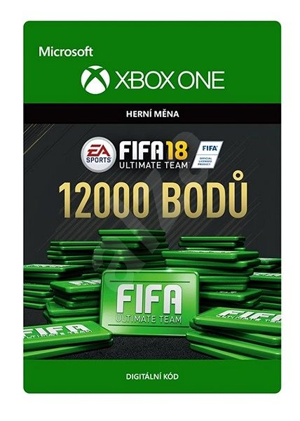 FIFA 18: Ultimate Team FIFA Points 12000 - Xbox One Digital - Gaming Accessory