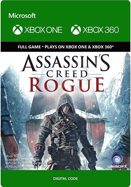Console Game Assassin S Creed Rogue Xbox One Digital Console