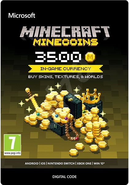 Minecraft: Minecoins Pack: 3500 Coins - Xbox One DIGITAL - Gaming Accessory