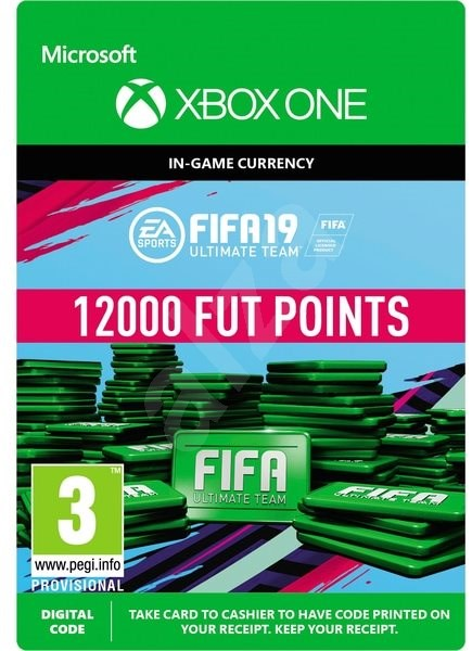 FIFA 19: ULTIMATE TEAM FIFA POINTS 12000  - Xbox One DIGITAL - Gaming Accessory