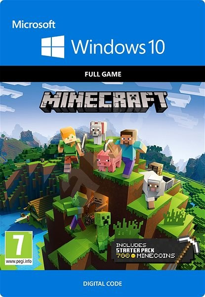 Pc Game Minecraft Windows 10 Starter Collection Pc Digital Pc Game On Alzashop Com