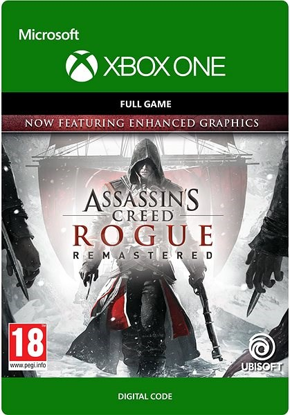 Console Game Assassin S Creed Rogue Remastered Xbox One Digital