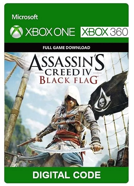 Console Game Assassin S Creed Iv Xbox 360 Xbox One Digital Console Game On Alzashop Com