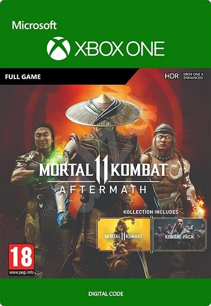 Console Game Mortal Kombat 11 Aftermath Kollection Xbox One