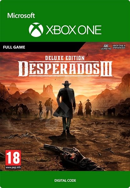 Console Game Desperados Iii Deluxe Edition Xbox One Digital Console Game On Alzashop Com