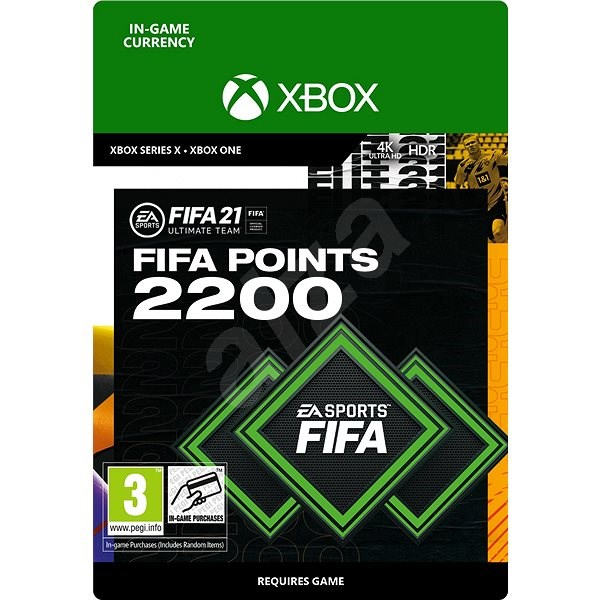 FIFA 21 ULTIMATE TEAM 2200 POINTS - Xbox One Digital - Gaming Accessory