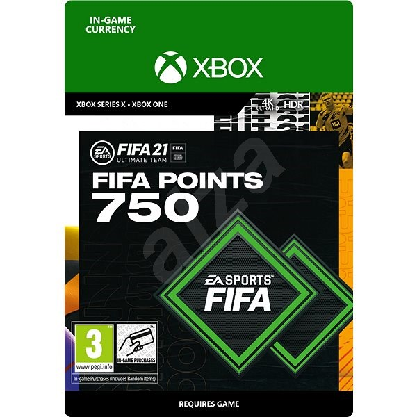 FIFA 21 ULTIMATE TEAM 750 POINTS - Xbox One Digital - Gaming Accessory