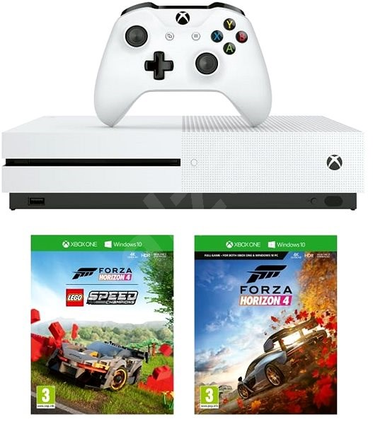 Xbox One S 1TB + Lego Forza Horizon 4 Bundle - Game Console
