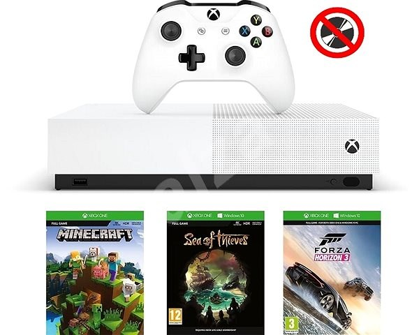 Xbox One S 1TB All-Digital Edition - Game Console