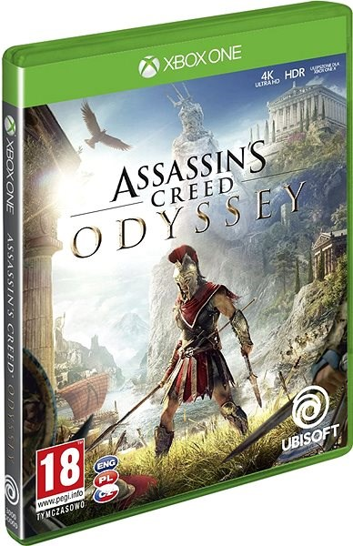 Assassin S Creed Odyssey Xbox One Console Game Alzashop Com