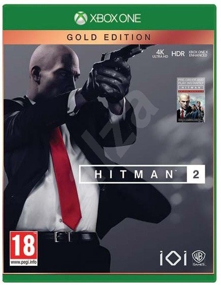 Hitman 2 Gold Edition 2018 Xbox One Console Game