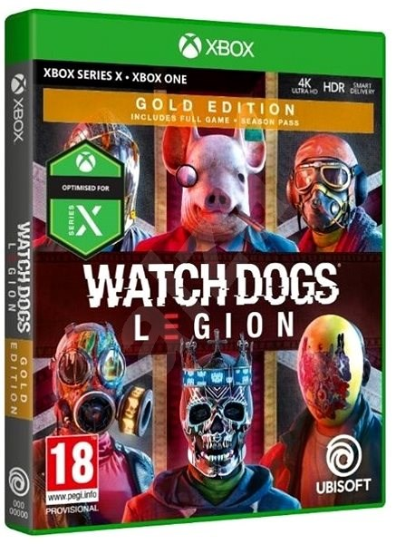 Watch Dogs Legion Gold Edition Xbox One Console Game Alzashop Com