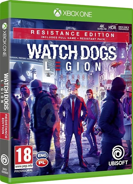 Watch Dogs Legion Resistance Edition Xbox One Console Game Alzashop Com