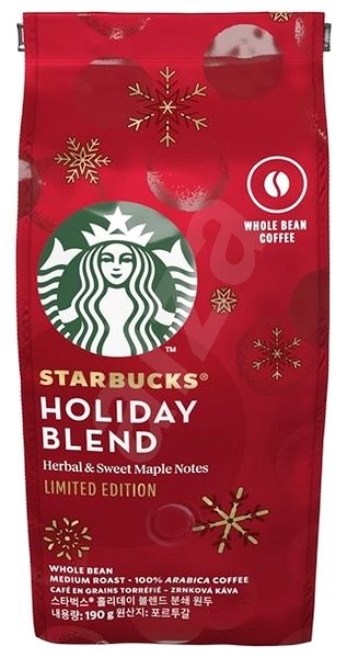 Nestlé ' Starbucks® Holiday Blend limited edition, coffee beans, 190 g - Coffee