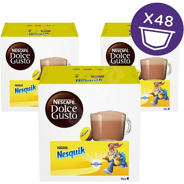 NESCAFÉ Dolce Gusto Nesquik, 3-Pack - Coffee Capsules