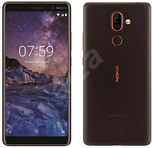 Nokia 7 Plus Black - Mobile Phone